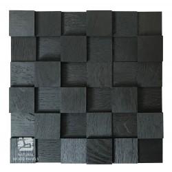 Dąb KOSTKA 3D BLACK *050