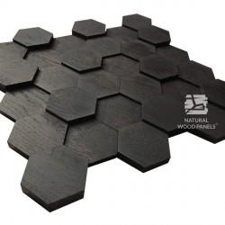 HEXAGON 7 – dąb czarny 3D
